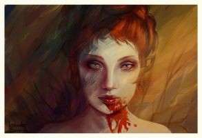 A Hallucination by agnes-green