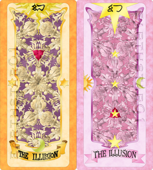 Clow and Sakura Cards The Illusion ((Manga)) by Earthstar01