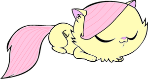 Kittykat FlutterShy by Puffypaw