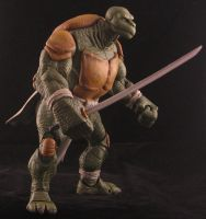 Michael Zulli style custom Leonardo action figure by plasticplayhouse