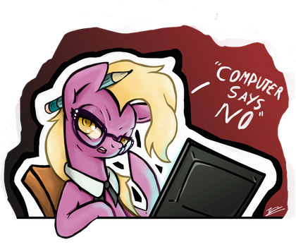 Computer Says No by EuropaMaxima