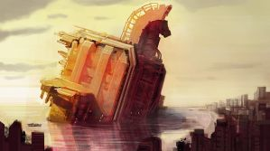 Trojan Horse 20xx by DrawingNightmare