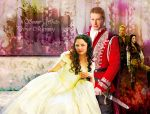 Prince Charming and Snow White by YaShA94