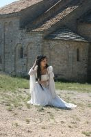 Medieval Bride I   - stock - by angelcurioso