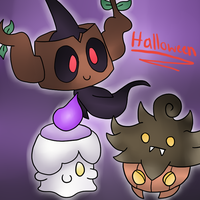 A ghostly halloween by thegamingdrawer