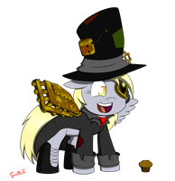 Steampunk derpy by Call-Me-Jack