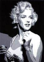 Marilyn 2 by Claon