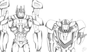 Wheeljack And Ultra Magnus by macattack-215