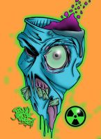 Radioactive Zombie Color by JohnVichlenski