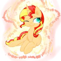 Sunset Shimmer by HiccupsDoesArt