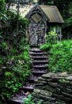witches cottage entrance hdr by AngiWallace