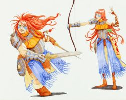 Warrior Sisters by eoghankerrigan