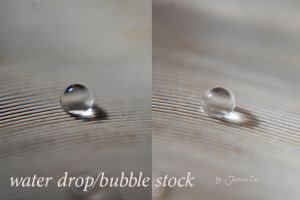 Bubble/dew/water drop stock by daftopia