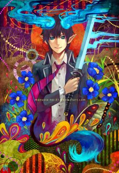 Blue exorcist by manusia-no-31