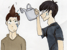 Why I can't draw Josh's hair right by Somerandomfan