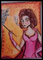 Aceo trade for fllippy by princessAdelaide