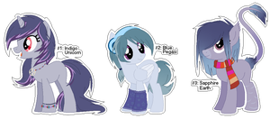 Auction: Ponies [OPEN] by MrBlitzie