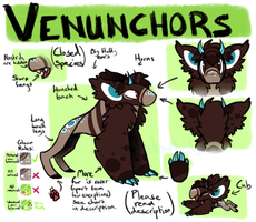 Venunchors Species Ref (please read description) by Bloodtaintedsoul