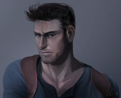 Nathan Drake by TheDamn-ThinGuy