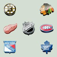 NHL - Original Six Icons by madeofglass13