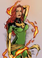 Jean Grey by IagoGeovane