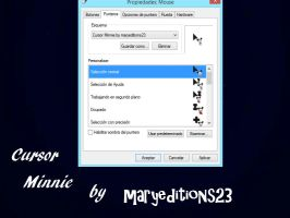 Cursor Minnie by maryeditions23 by maryeditions23