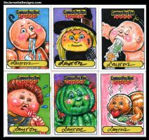 GPK Flashback sketch cards 3 by DeJarnette