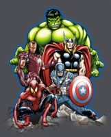 Avengers by stlcrazy