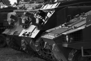 US Military Tracks by Stolzer