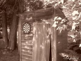 An Old Outhouse by CountryBumkin