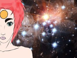 Ziggy in space by Prinzessinumi