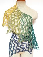 Meandering path scarf by FearlessFibreArts