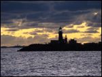 Lighthouse in the evening by avarenity