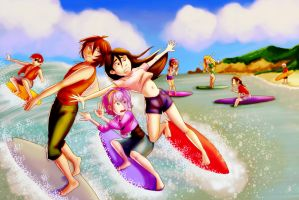 MM: Surfing Fiasco by Card-Queen
