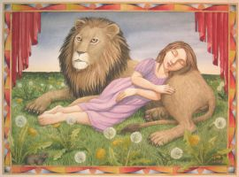 Lion Tamer by LaineB