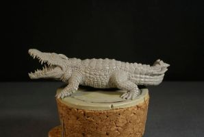 Crocodile 1/3 by The-Small