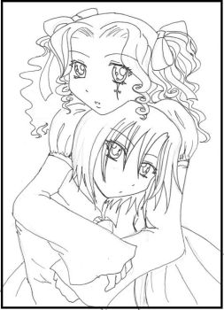 me and brittany by Mrs-CloudStrife