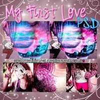 +My First Love P S D by SellyEditions