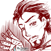 + Sketch: Iron Man + by Yore-Donatsu