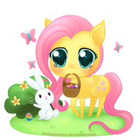Happy Easter 2012! by littlemissfawn