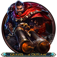 Graves The Outlaw Dock Icon by OutlawNinja
