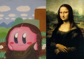 The Mona Kirby (comparison) by recycledrapunzel