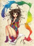 my colorful self by fialutten