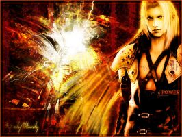 Wall Sephiroth by elyJHardy