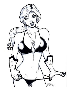 Scarlett from G.I. Joe by PatrickFinch