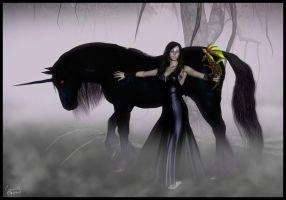Daughter of the Dark Forest by CyprithTheCat
