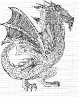 Wyvern by kxeron