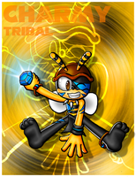 Charmy Tribal Card by Lord-Kiyo