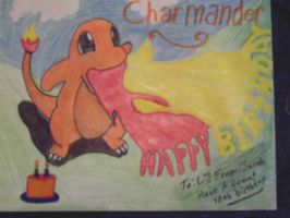Charmander birthday by Snapefan83