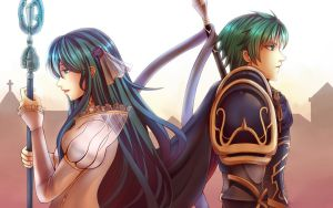 FE:A DLC Eirka and Ephraim by TOFUProductionz